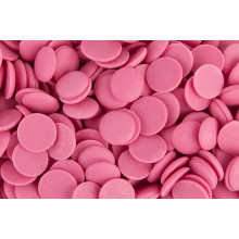 Глазурь в дисках Centramerica розовая со вкусом клубники, 100 г