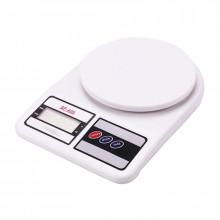 Весы электронные кухонные 1-10 кг. в коробке на батарейках