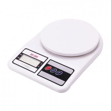 Весы электронные кухонные 1-7 кг. в коробке на батарейках