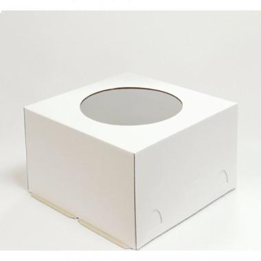 Короб с окном  для кондитерских изделий 300*300*190