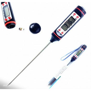 Термометр для пищи электронный в коробке на батарейках