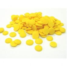 Глазурь в дисках Centramerica желтая со вкусом лимона, 100 г