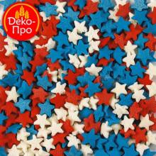 Звезды красно-бело-синие, 50 гр.