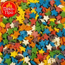 Звезды разноцветные, 50 гр.