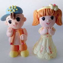 Сахарные фигурки: Девочка и Мальчик, 1 шт.