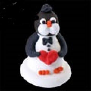 Сахарная фигурка Пингвин, 1 шт.