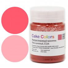 Краситель Жирорастворимый  Cake Colors,  Розовый 10 гр.