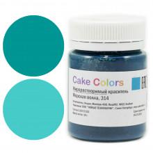 Краситель Жирорастворимый  Cake Colors,  Морская волна 10 гр.