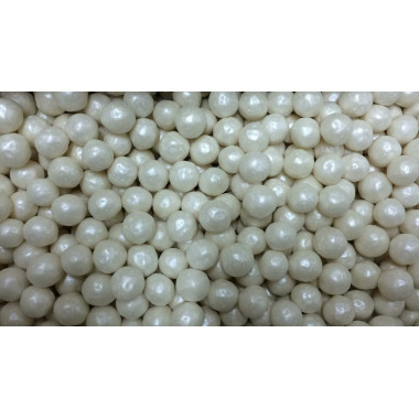 Взорванные зерна риса в цветной глазури, Жемчуг , 12-13 см.100 гр.