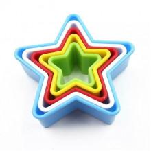 """Вырубка для печенья """"Звезда"""" 5 шт."""