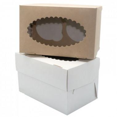 Упаковка для маффинов на 2 шт.