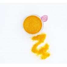 Блестки пищевые Sweety Kit, Оранжевый 0,5-1 мм.