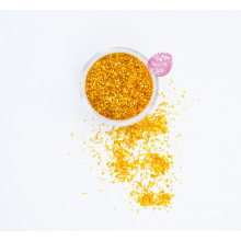 Блестки пищевые Sweety Kit, Оранжевый 2 мм.