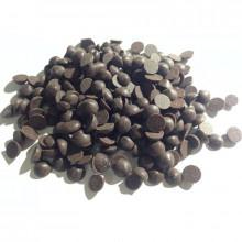 Капли темные термостабильные шоколадные, 100 гр.