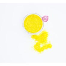 Блестки пищевые Sweety Kit, Желтый 0,5-1 мм.