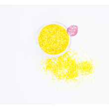 Блестки пищевые Sweety Kit, Желтый 2 мм.
