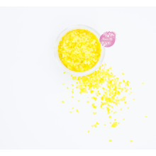 Блестки пищевые Sweety Kit, Желтый 3-5 мм.